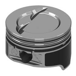 KB Claimer Chevy 383 Hypereutectic Pistons, .110 Dish, 5.7 Rod