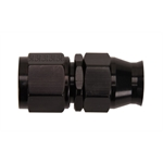 Fragola 680106-BL Real-Street Straight PTFE Hose End Fitting, -6 AN, Black