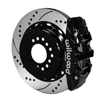 Wilwood 140-10950-D AERO4 Rear Brake Kit, 2005 & Up Mustang