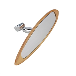Woodgrain Surfboard Interior Mirror
