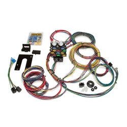Painless Wiring 50002 Universal 21 Circuit Pro Street Chassis Wiring Harness