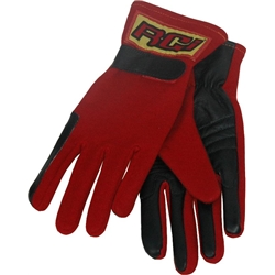 Safety Racing 2-Layer Nomex/Proban Short Gloves Red S