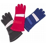 Safety Racing 2-Layer Nomex/Proban Short Gloves Blue S