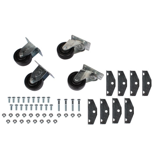 Casters for Engine Storage Stand, Set/4