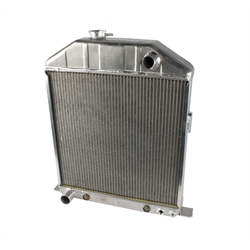 Griffin Radiators 4-242BX-FAX 1942-48 Ford Aluminum Radiator, Ford V8
