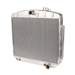 Griffin 6-555AH-AAX 1955-57 Chevy Aluminum Radiator, 1-1/4 Inch Tubes