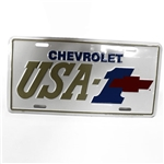 OER HB15867 USA-1 Gold/Bowtie License Plate