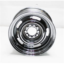 Garage Sale - O/E Style Hot Rod Steel 15 Inch Wheel, Chrome, 15 x 7, 5 on 4-3/4