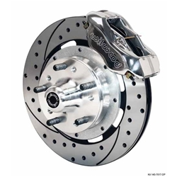 Garage Sale - Wilwood 140-10440-DP FDL 12.19 Front Brake Kit, 74-80 Pinto/Mustang II