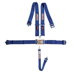 Garage Sale - G-FORCE 5-Point Racing Harness Set, Latch and Link, Blue