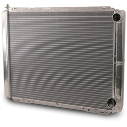 AFCO 80119N 25-3/8 Inch Double Pass Radiator, 1.5 In. Right Side Inlet