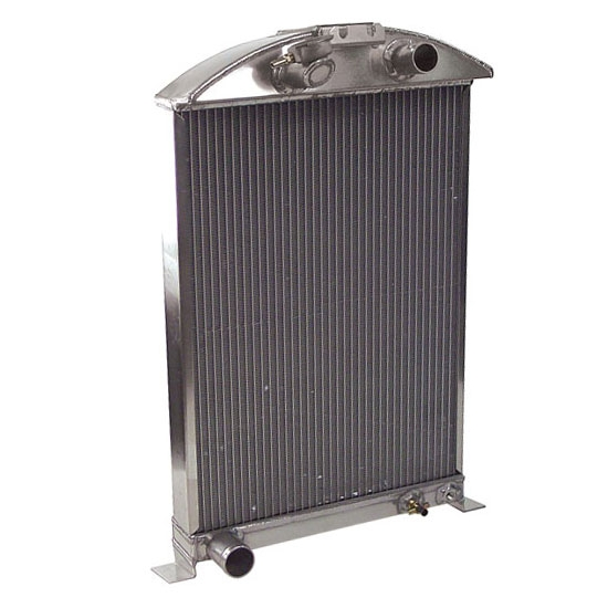 AFCO 1933-34 Ford Car Aluminum Radiator, Ford Engine
