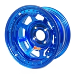 Aero 33-974030BLU 33 Series 13x7 Wheel, Lite, 4 on 4 BP, 3 Inch BS