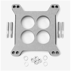 Edelbrock 8723 4- Barrel Carburetor Spacer, Wood Fiber Laminate,0.5in.