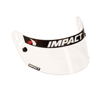 Impact Racing 12199901 Clear Shield for Vapor/Charger Helmets, Fog Free