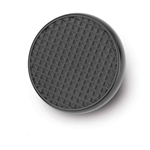 Lokar XSPO-6071 Midnight Series Round Steel Brake/Clutch Pad w/Rubber