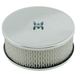 Mr Gasket 1485 Flat Top Dual Quad Air Cleaner