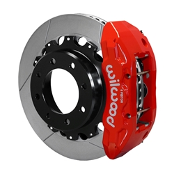 Wilwood 140-13878R TX6R Big Brake Truck Rear Brake Kit, Red