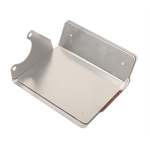 Polished Aluminum Chevy Compact Mini Starter Heat Shield/Cover