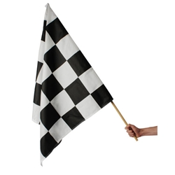 Checkered Flag, 3 Ft. x 3 Ft.