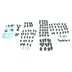 MP Enterprises 8130K5 Front End Metal Fastener Kit, Chevelle/Monte