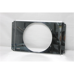 Garage Sale - AFCO 22-1/2 X 14-3/4 Inch Polished Cooling Fan Shroud for 14 Inch Fan