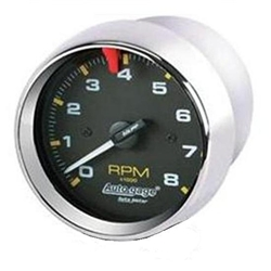 "Garage Sale - 3-3/4"" Tach 8000 RPM Chrome"