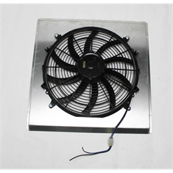 Garage Sale - AFCO 80172-F-SS-N 39-40 Dlx, 40-41 Ford Truck Fan Shroud Assembly