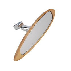 Garage Sale - Woodgrain Surfboard Interior Mirror