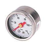 Auto Meter 2175 Hi-Vibration Pressure Gauge, 0-15 PSI
