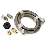 Auto Meter 3228 Stainless Line Kit for Pressure Gauges, -4 AN, 6 FT