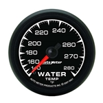 Auto Meter 5931 ES Mechanical Water Temperature Gauge, 2-1/16 Inch