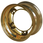 Aero 51-980530GOL 51 Series 15x8 Wheel, Spun, 5 on WIDE 5, 3 Inch BS