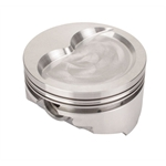 KB Chevy 400 Hyperutectic Pistons, Dish, 6.0 Inch Rod