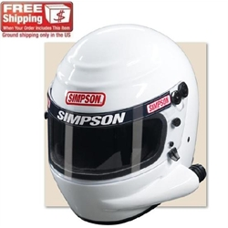 Simpson Voyager Sidewinder SA2010 Racing Helmet