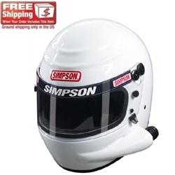 Simpson Voyager Sidewinder SA2010 Racing Helmet
