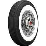 Coker 800R15 American Classic Bias-Look Radial 3.25 In White Wall Tire
