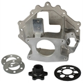 Bert Transmission 301C/371H/370 S/B Chevy Aluminum Bell Housing