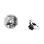 Delta 01-1159-SMDA Euro 7 Inch Headlights w/ Xenon Bulb/LED Blinkers