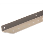 Aluminum Angle Body Bracing, 120 Degree, Drilled, 26 Inch