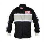 Safety Racing SFI Proban Driver Jacket, Black Small