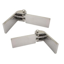 Budget Hinges - Stainless Steel