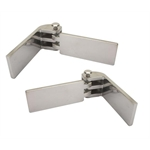 Speedway Universal Budget Door Hinges, Stainless Steel