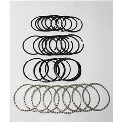 Garage Sale - Speedway Plasma Moly Piston Rings, 4.00 Bore, Style C, .030 Over