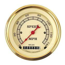 Classic Instruments VT55GSLF Vintage 140 MPH Speedometer
