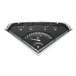 Classic Instruments TF01B 1955-59 Chevy Truck Gauge Set, Black Face