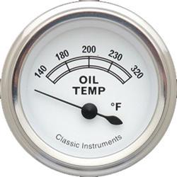 Classic Instruments CW28SLF-A Classic Oil Temperature Gauges