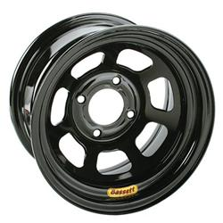 Bassett Pony-Mini Stock 13 Inch Wheel - 13x7, 4 on 4 1/2, Black