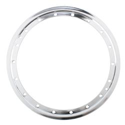 Basset Racing Wheels 50LC Replacement 15 Inch Beadlock Rinch, Chrome