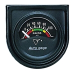 Auto Meter 2354 Auto Gage Air-Core Oil Pressure Gauge